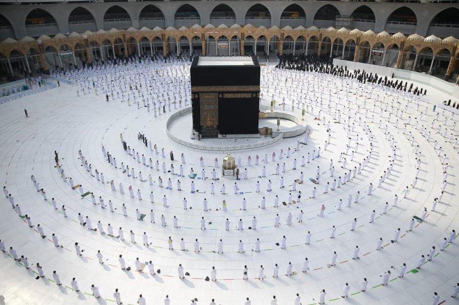 Arab Saudi Gelar Haji 2021 Hanya untuk 60 Ribu Jemaah Lokal