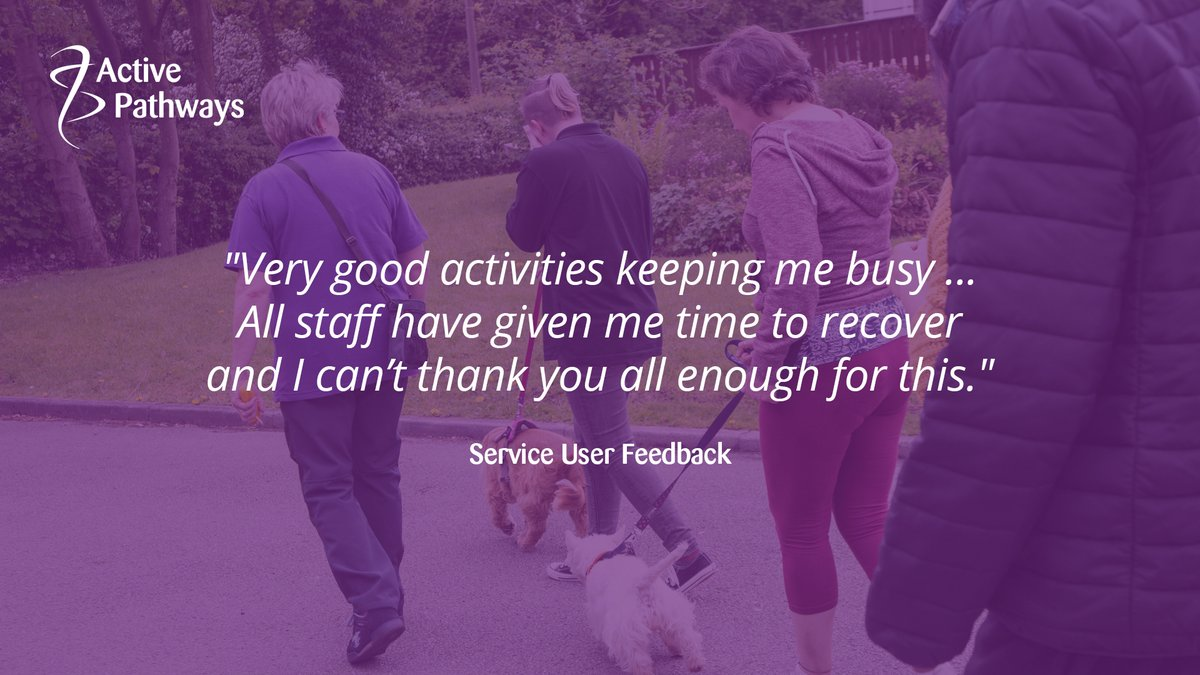 Thank you for your lovely feedback, we're so glad you're recovering well and getting the help you need 👏 #occupationaltherapy #rehabilitation #rehab #mentalhealth #mentalhealthmatters #mentalhealthadvocate #dailymotivation #mentalhealthrecovery #keyworkers #recovery