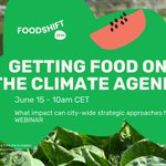 Image for the Tweet beginning: 👉🏽Join the @FoodSHIFT2030 public webinar