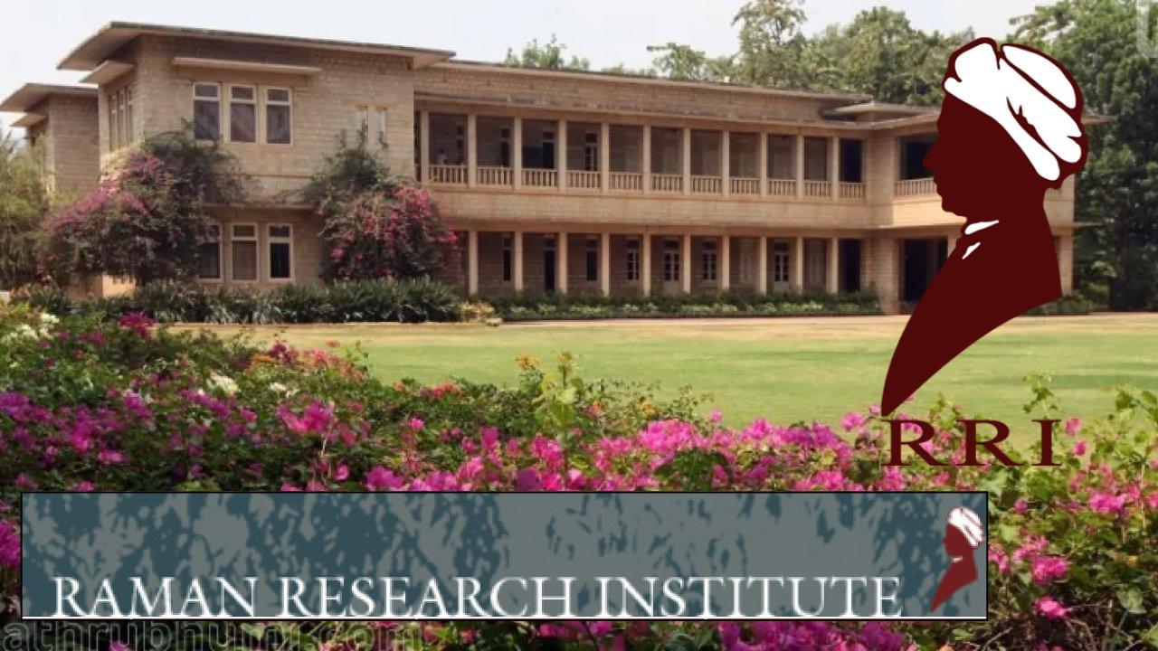 Physics Scientist Jobs in India, Raman Research Institute Bengaluru, Karnataka, India