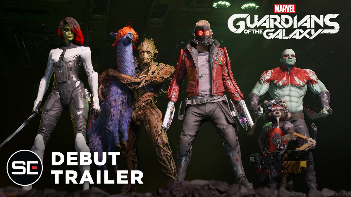 @SquareEnix's photo on Guardians of the Galaxy
