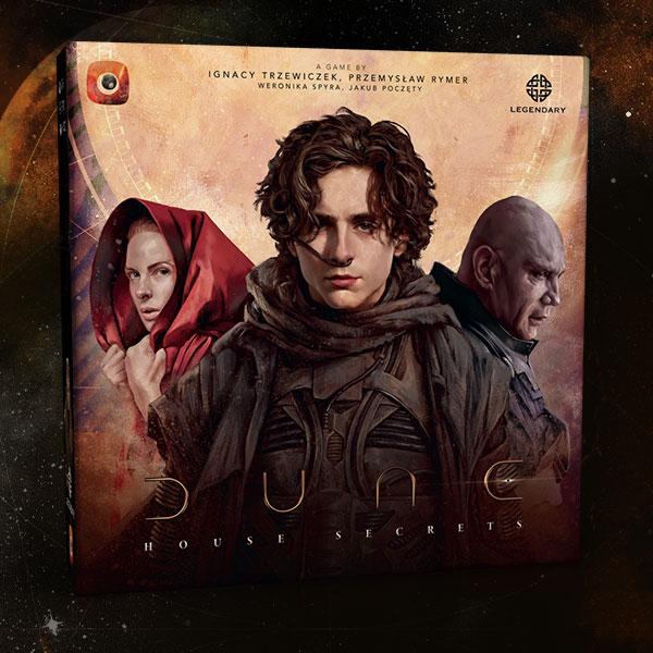 test Twitter Media - Portal Games vliegt met het coöperatieve spelsysteem van Detective naar Arrakis, waar je in Dune: House Secrets het verzet tegen de Harkonnens organiseert. Release in oktober. Info: https://t.co/SsXq9XCDIp https://t.co/XK3JsTTou1