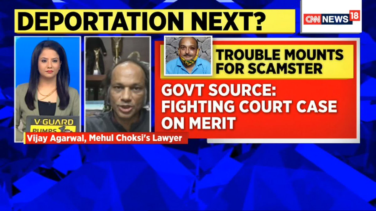 A press release by the Dominican home office states that Mehul Choksi will be sent back to Antigua: Vijay Aggarwal, Mehul Choksi's Lawyer tells  @ridhimb https://t.co/xAlLaxPuRQ