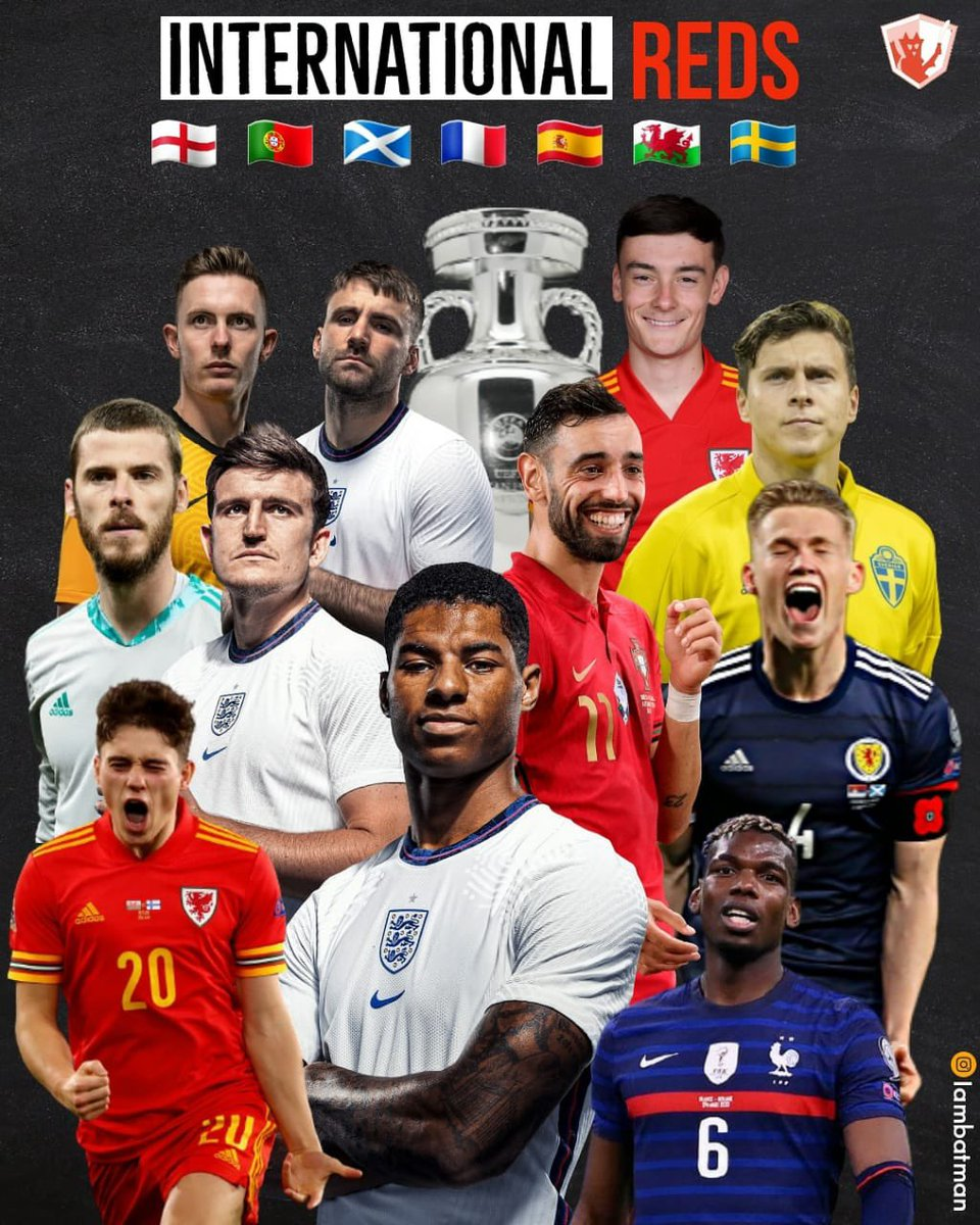 Good luck to the 1️⃣1️⃣ Reds on UEFA EURO 2020 duty this summer. #GGMU #MUFC #MUSCN https://t.co/GV0csgz1WB