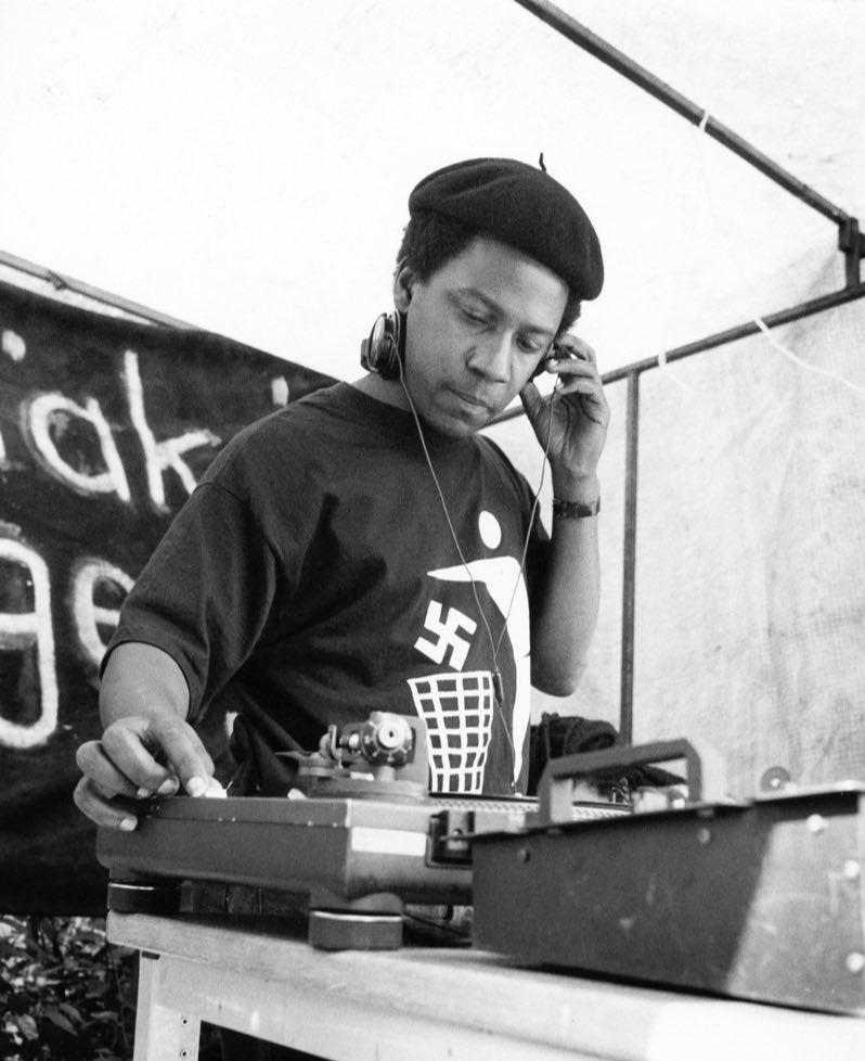 Norman Jay - Good Times Sound System. Notting Hill Carnival, 1992.  Photo © Tony Davis. https://t.co/OAtNDyjcaK