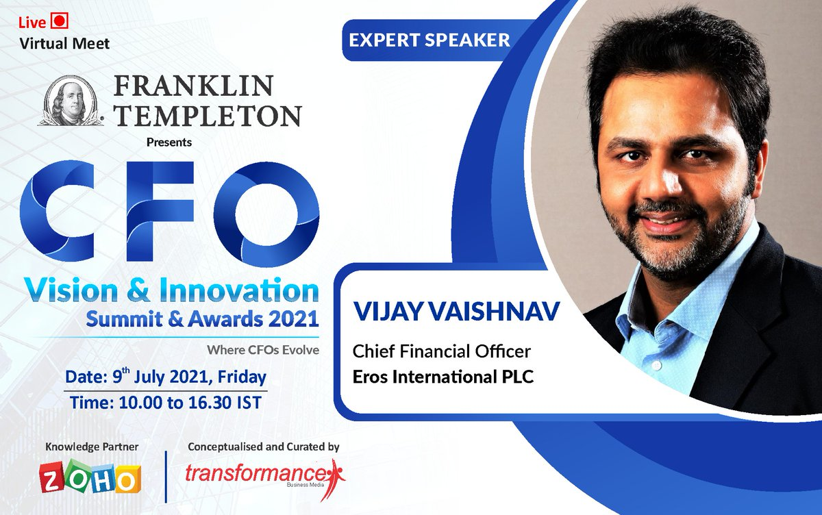 Learn and Interact with Vijay Vaishnav in an exciting #firesidechat : #careerplanning and #development for #financeteam.  Grab Your #vip pass.....Want to #nominate for awards?: https://t.co/hjGbUwdh26  #cfos #cfoinsights #chieffinancialofficer #cfocommunity #transformanceforums https://t.co/l03IeEH8a9