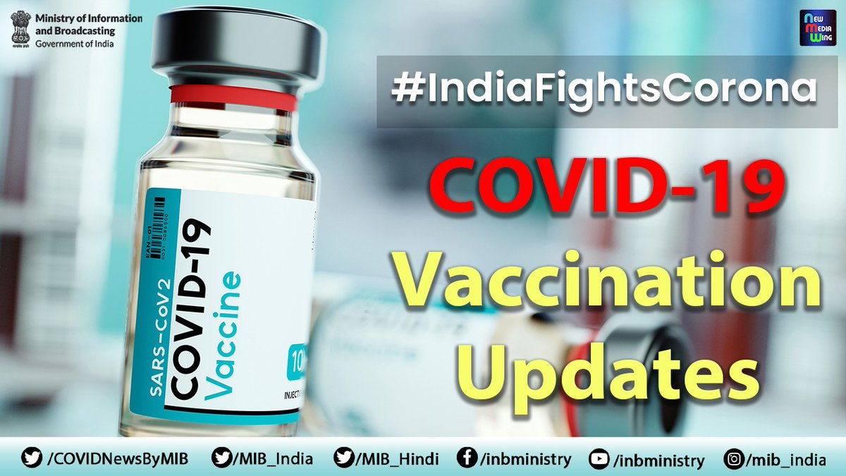 #IndiaFightsCorona  #COVID19Vaccination Update  We continue to take appropriate steps as are necessary, from time to time, to ensure that data of the people is safe with #COWIN : @rssharma3   #LargestVaccinationDrive #We4Vaccine  Details: https://t.co/jFaSSoG2AB https://t.co/C34aZSVDxs