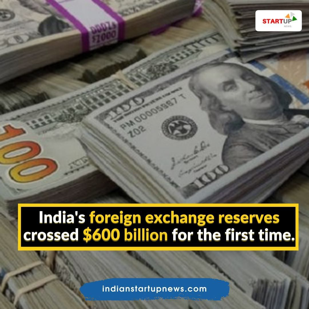 The reserves surged to a record $605.008 billion in the reporting week, helped by a rise in #foreigncurrency assets.  #foreignexchange #businessnews https://t.co/DJAxGn64eT