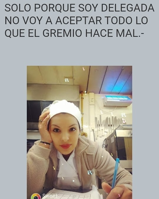 Ella es Andrea Siles, delegada gremial en el Hipódromo de Palermo por el Sindicato APHARA. Fue la única representante en todo ese gremio que se opuso a los descuentos ilegales en pandemia. La justicia ya le dio la razón en primera instancia ordenando el pago de las diferencias.