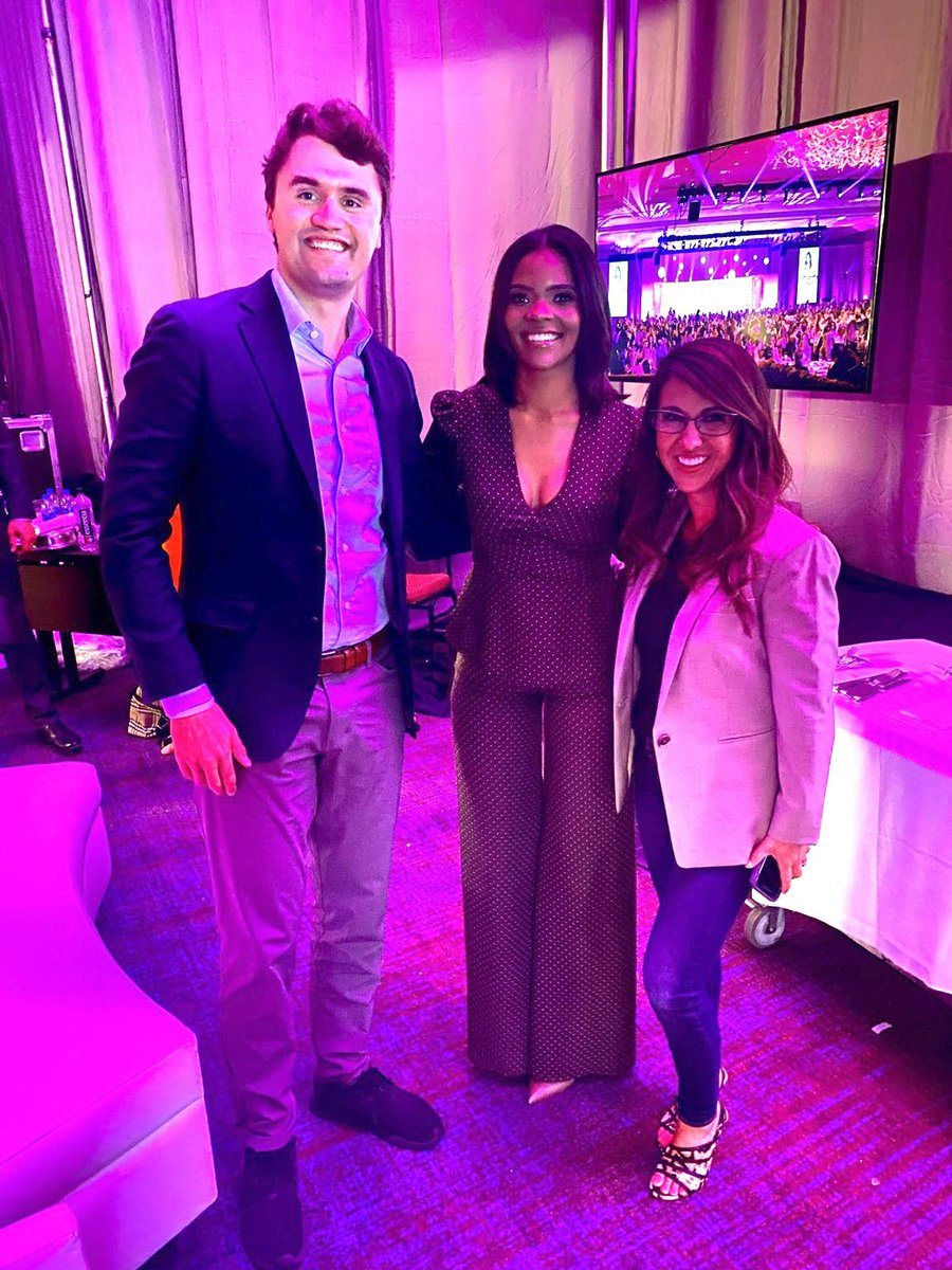A great day at #YWLS yesterday with two of this country's most passionate advocates for conservatism - @CharlieKirk11 & @RealCandaceO.   We ARE the next generation of conservatives and it is time to take this country back from the liberals & Marxists! https://t.co/CXmpApFnkN