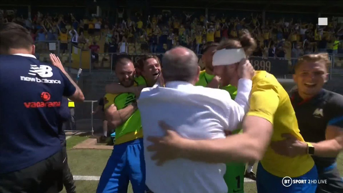 They've done it!   @TUFC1899 are heading to the @TheVanaramaNL play-off final 🎉 https://t.co/eUGF8LIiF0