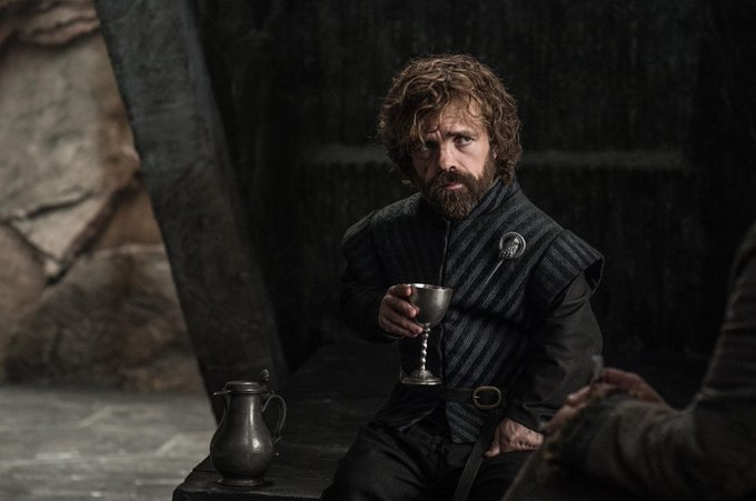 Happy birthday to the king of tits and wine Peter dinklage (tyrion lannister)