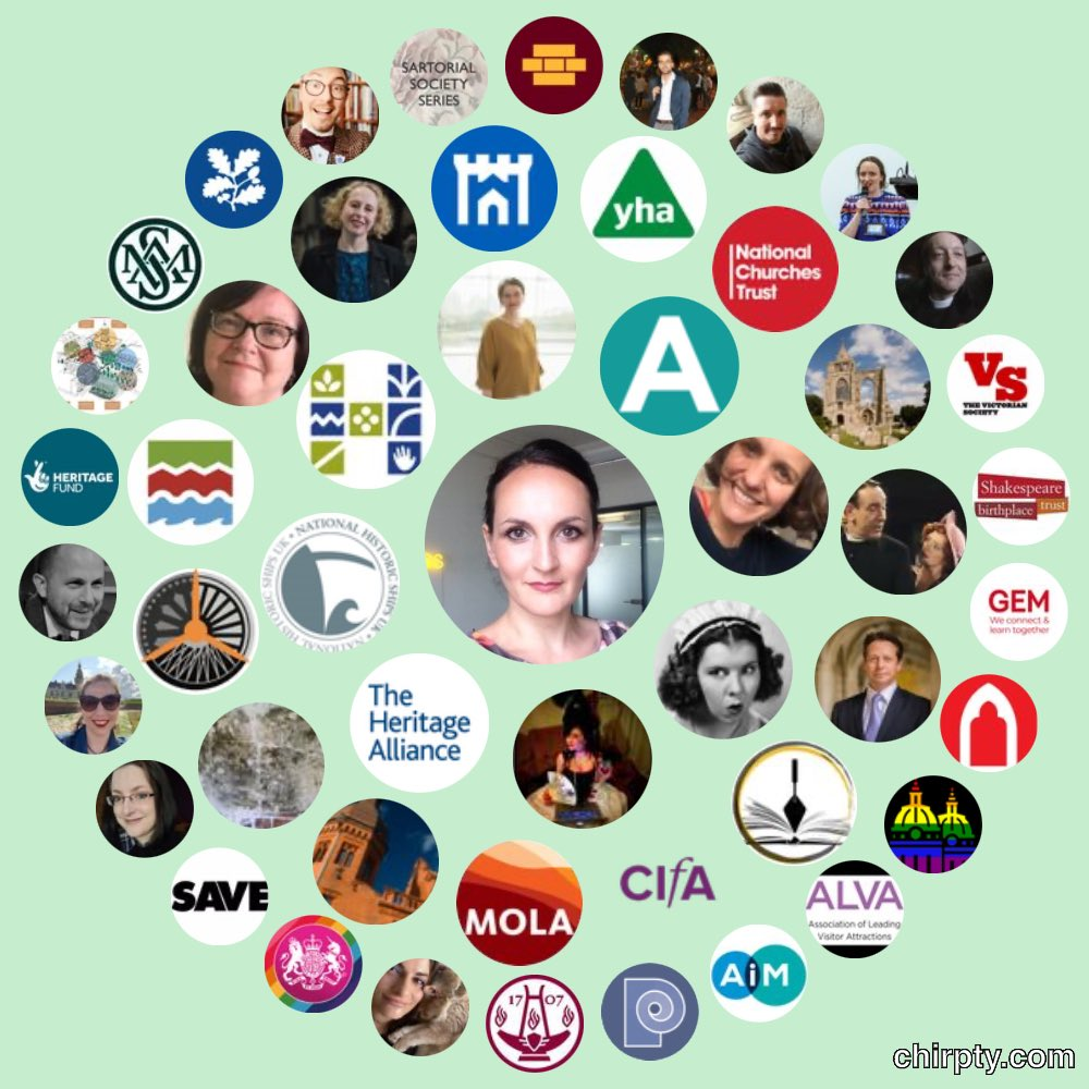 Right back at you :-). We are massive fans of @Heritage_NGOs