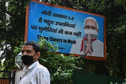 In a Crisis, India's Modi Could Always Change the Narrative Then Came Covid Photo