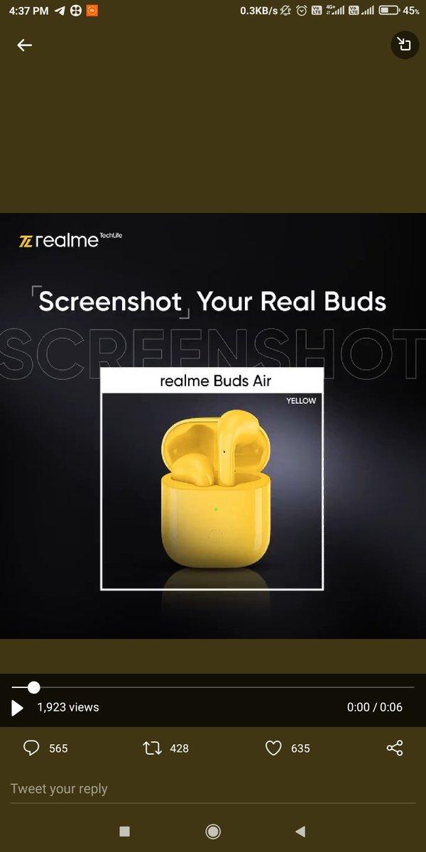 @realmeTechLife realme Buds Air 2 Closer White  My screenshot   #ThrowbackTuesday  #realTrivia #Contest  @realmeTechLife https://t.co/tFWG3B96gD