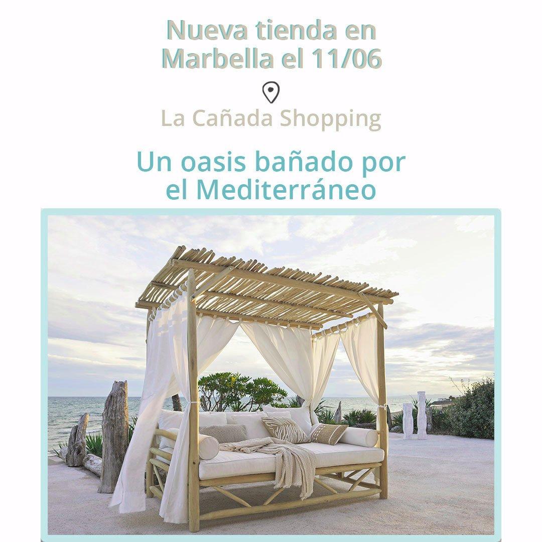 ¡YA ABIERTO! MAISONS DU MONDE sigue apostado por Málaga con una segunda tienda en CC La Cañada de Marbella @cc_lacanada https://t.co/GCbfU3wFuz