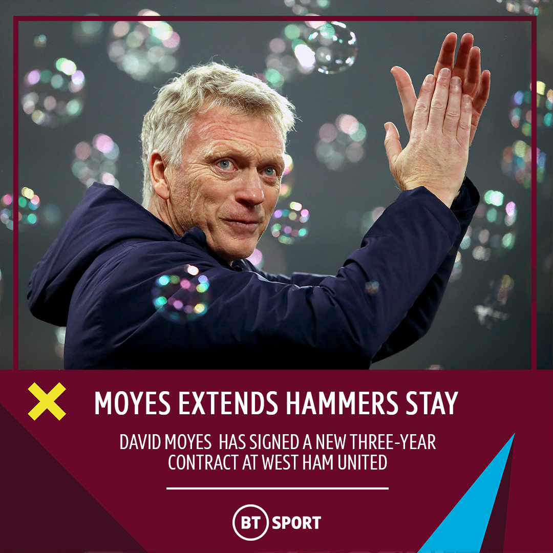 Brilliant news for West Ham fans ⚒ https://t.co/o3RnvOX2o1