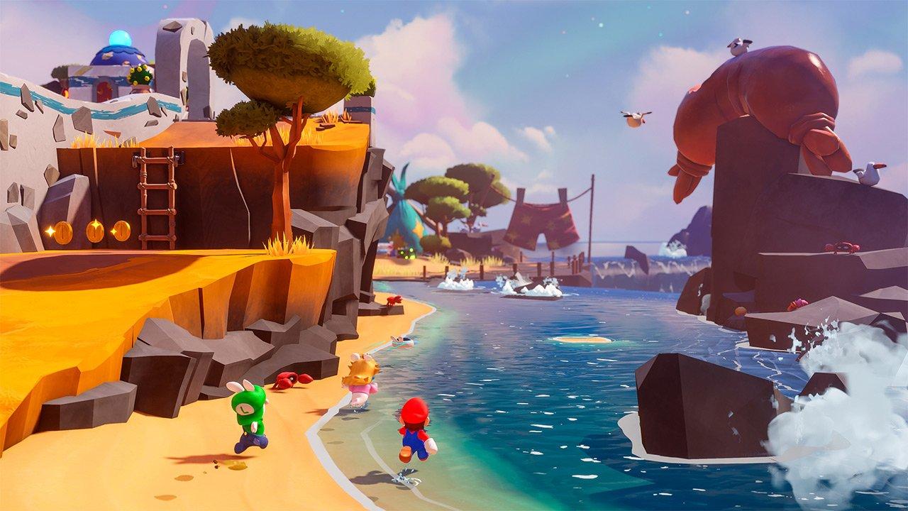 E3 2021 Mario + Rabbids Sparks of Hope fecha lanzamiento switch 2 personajes tráiler filtración