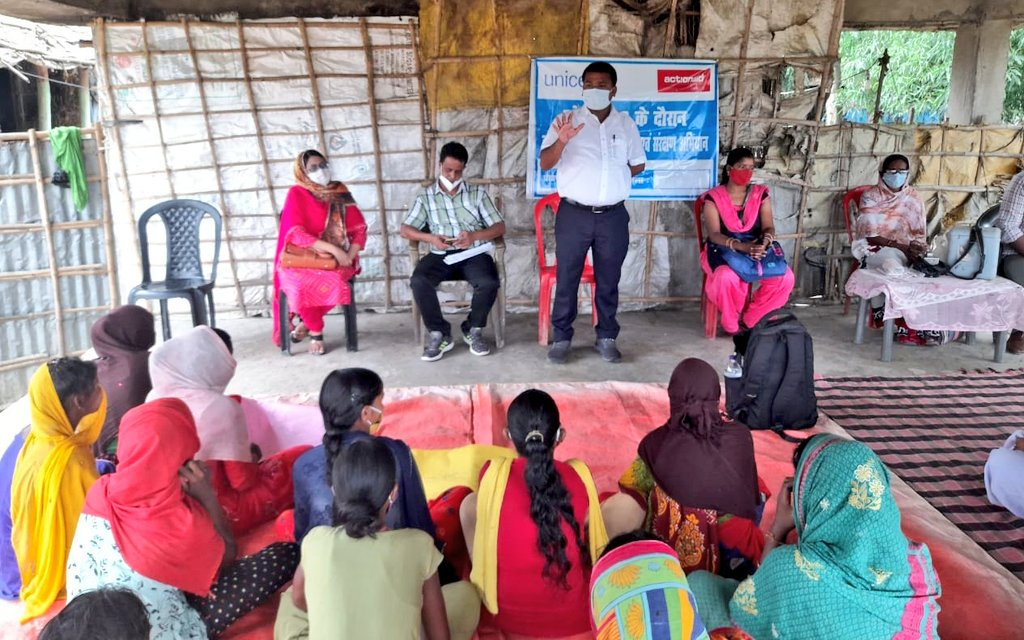 There are several structural causes that proliferate #childlabour among #Dalits. In #Amour block of #Purnia @ActionAidIndia organized interaction between rights holders & duty bearers on #WorldDayAgainstChildLabour vowing to eradicate all forms of exploitation of children. https://t.co/ADxQDgwYAD