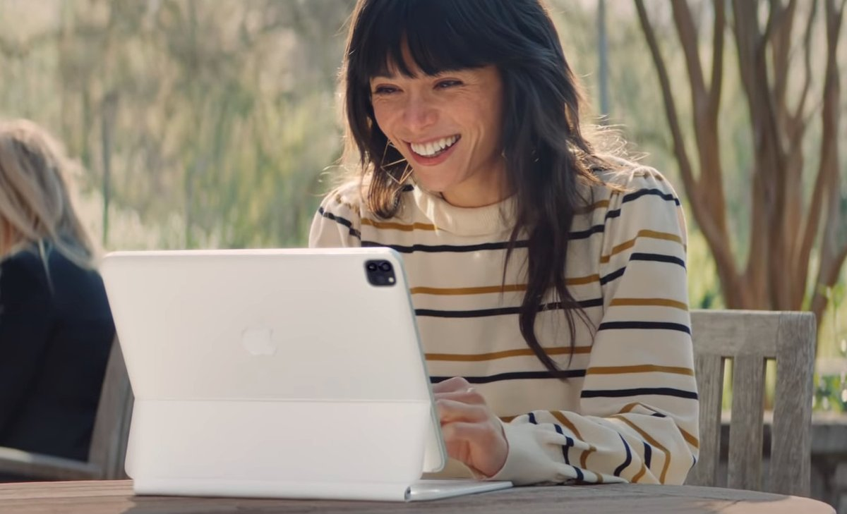 New iPad Pro ad features classic song from 'The Little Mermaid'