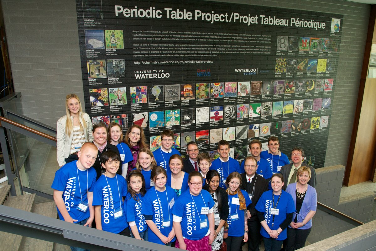 """test Twitter Media - Reminiscing """"The International Year of Chemistry"""" #IYC2011 with @JeanHein ESM @ACSChemClubs  was part of the Periodic Table Project. @ESMSchoolDist @kcmittiga84 @NYSMTP https://t.co/JPvUntHXlD"""