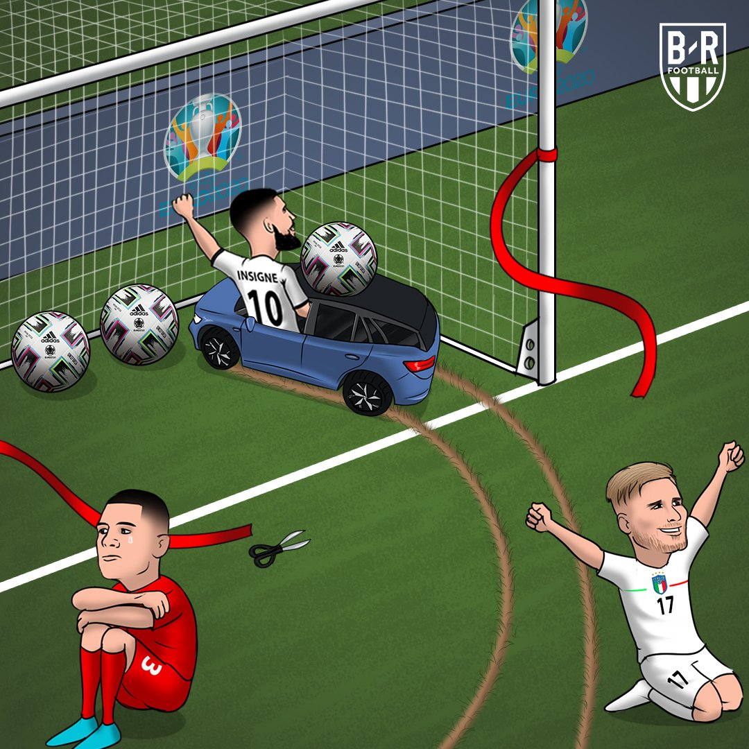 Stars of day one:  ▪️#ITA ▪️The little car that brings the match ball out  #EURO2020 https://t.co/tuQTGDwnZV