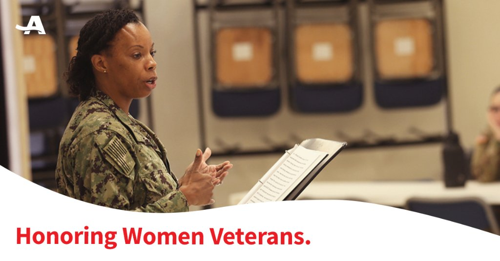 In honor of Women Veterans Day, we salute all women who served and still serve in the U.S. Armed Forces. Your sacrifices to defend freedom deserve our lasting gratitude. Who are the women you recognize today? @seanvoskuhl #AARPSalutesVets https://t.co/AVy86s7C9R