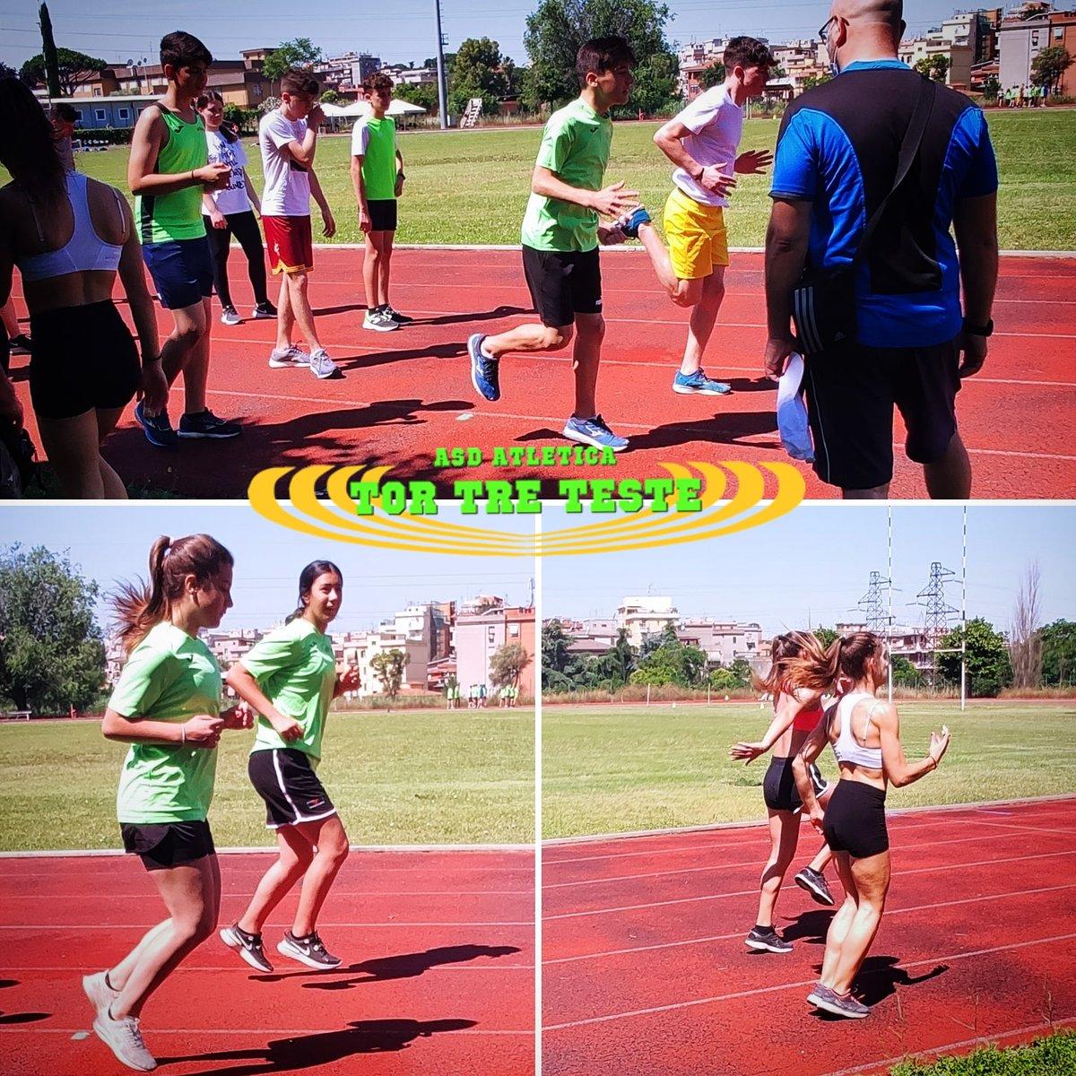 Questa mattina si #lavora sui #fondamentali per la #velocità. I prossimi #eventi sono alle porte e la #preparazione si fa mirata.  #lazio #roma #fidalroma #fidallazio #impegno #atletica #atleticatortreteste #verdefluo #fast #run #correre #running #fitness #motivation #tokio2020 https://t.co/SB1kjSQFIM