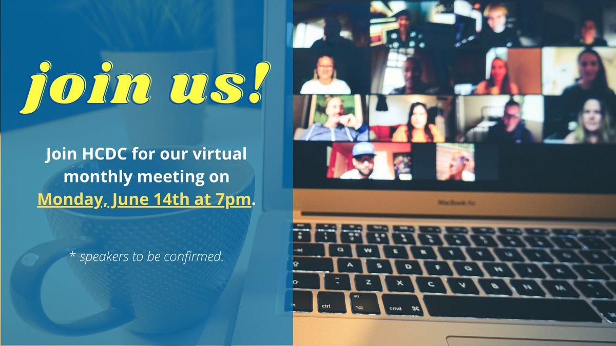HCDC. Meeting. Tomorrow.  ‼️JOIN US‼️