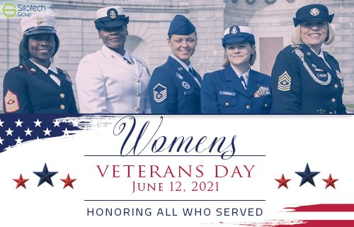 #SilotechGroup celebrates Women Veterans Day! On this day in 1948, President Truman signed into law the Women's Armed Services Integration Act, enabling women to serve as permanent, regular members of the armed forces. #Thankyou to all of our #WomenVeterans! https://t.co/WMxFFDQCCc