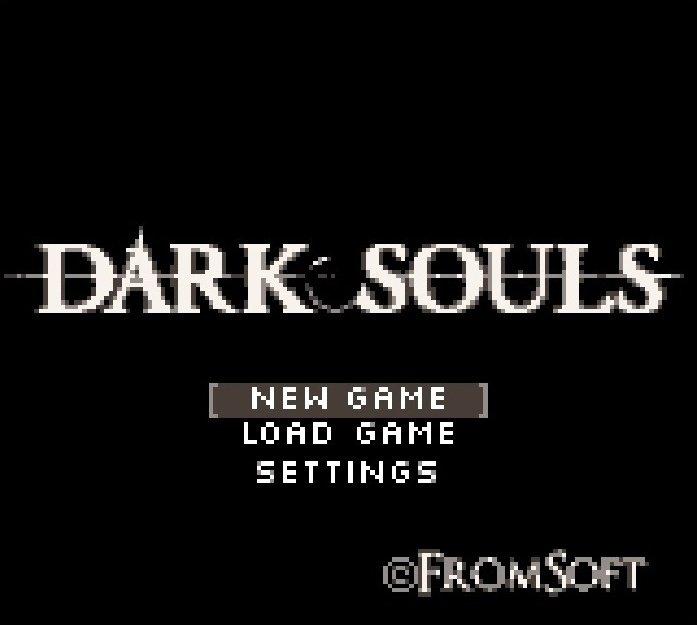 Pixel art   Dark Souls on Game Boy Color  Artist: @ChrisPariano https://t.co/yHDfqLnqnM