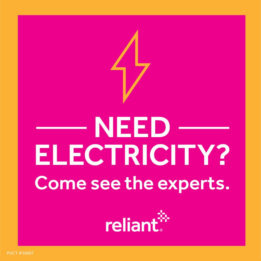Did you know you can sign up for Reliant electricity at grocery stores all over Texas? Visit an in-store Reliant location today and ask our experts about electricity plans to fit your budget and lifestyle. https://t.co/t2lknYgnOH https://t.co/vCCgB9ODnK