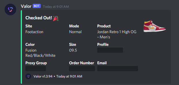 Fr one of the most stacked months with the weirdest releases I've seen since starting botting🤦♀️  CG: @NotifySquared  Proxies: @LiveProxies @AlpineProxies @TrinityProxies @ProxyWorId Code Dwavious <3  🚀: @ValorAIO  Server: @MainlyServers   Is this a @DaBabyDaBaby moment? 1K stock https://t.co/quTLCK1rmU