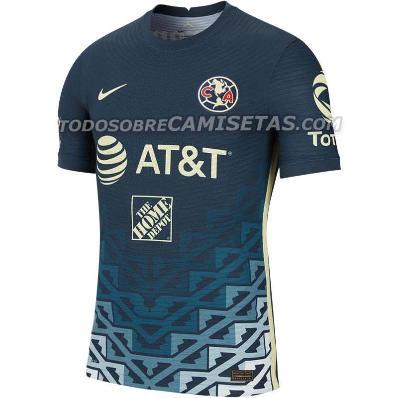 Jersey Visita de Club América 2021-22