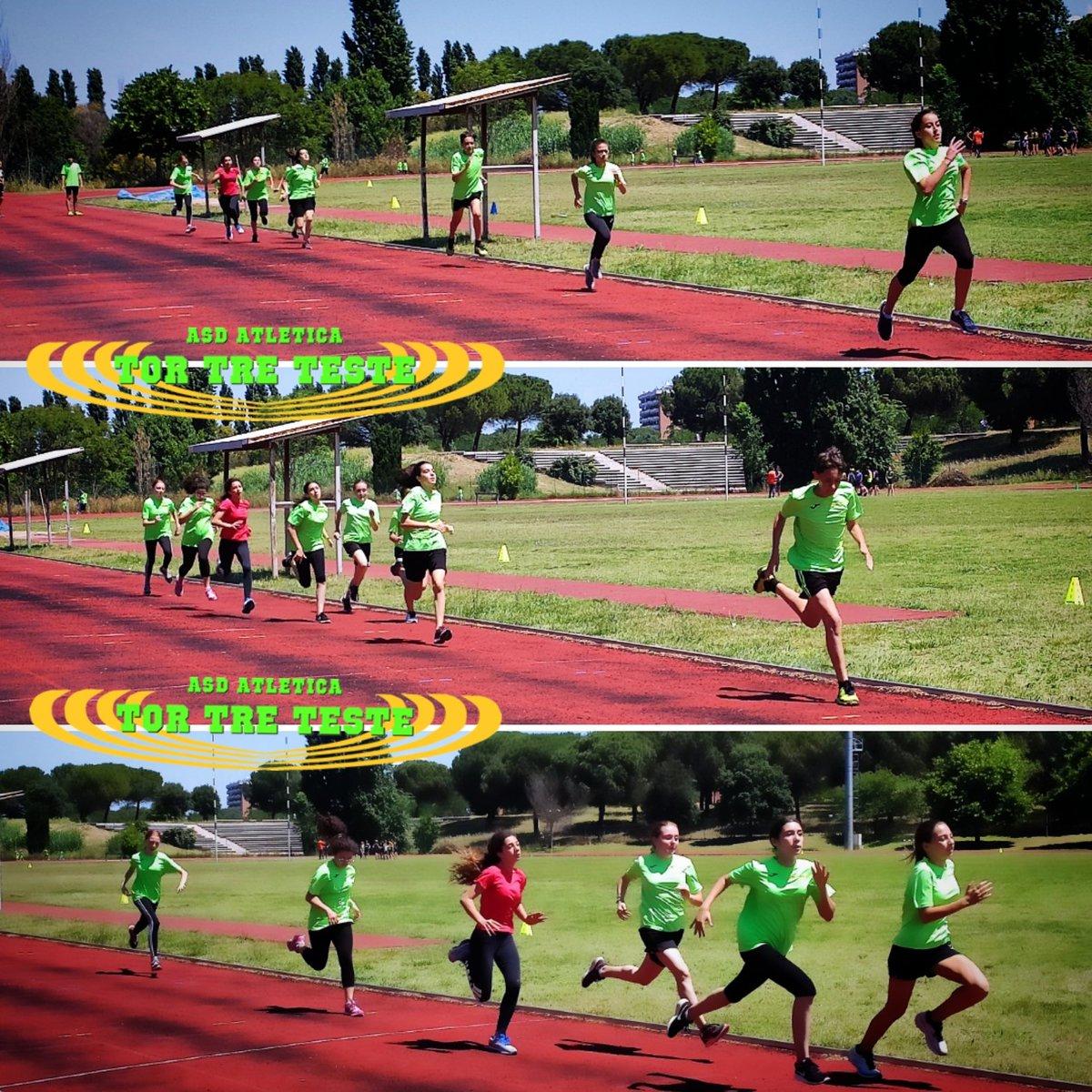 #velocità velocità velocità. Si #lavora sulla velocità con i #ragazzi.  #lazio #roma #fidalroma #fidallazio #impegno #atletica #velocità #atleticatortreteste #verdefluo #fast #run #correre #running #fit #fitness #motivation #tokio2020 #moltocaldo #coraggio #sport #veryfast https://t.co/EmPTXsuELU