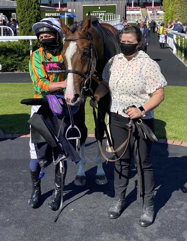 Tombolo showed a great turn of foot to win at Chester. Well done to owners Merchants & Missionaries. Great win