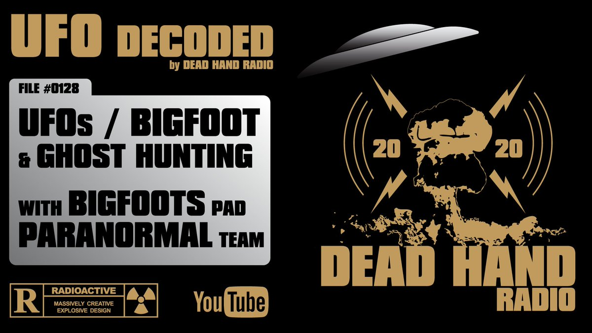Tonight June 12 at 7pm PST - LIVE! https://t.co/z4V3iaS4qp UFOs Bigfoot & Ghost Hunting with Bigfoots Pad Paranormal Team @bfpteam   Join us in the chat with your comments & questions. https://t.co/xIbiGbd914