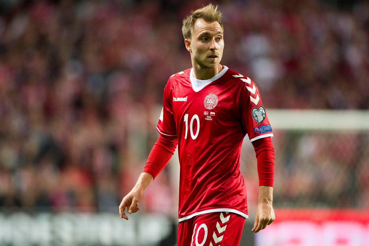 Our thoughts and prayers are with you Christian Eriksen 🇩🇰❤️ https://t.co/Vb1Z73GHOX