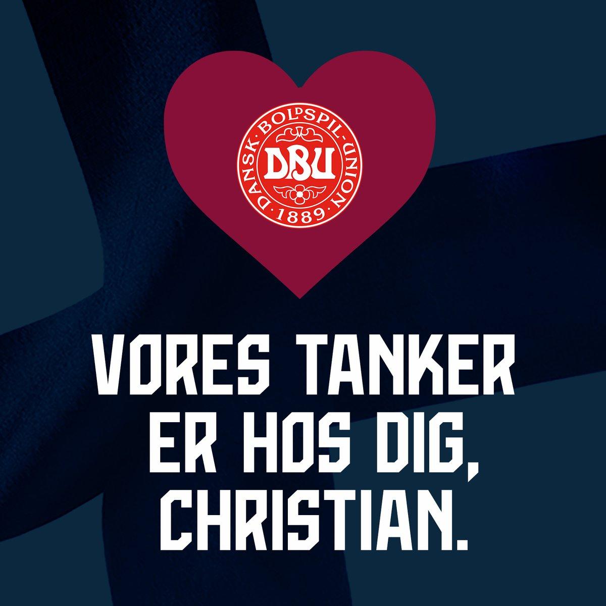 Christian Eriksen on hereillä ja hänen tilansa on vakaa. Suomen miesten A-maajoukkueen, Palloliiton ja suomalaisen jalkapalloperheen ajatukset ovat Eriksenin, hänen läheistensä ja Tanskan joukkueen luona. #DENFIN #Huuhkajat https://t.co/TK2LSb6x21