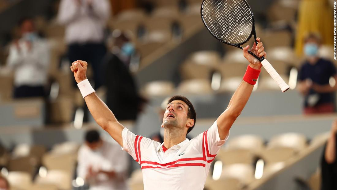 'My greatest ever match in Paris,' says Djokovic after win over Nadal https://t.co/7oyL62eoSx https://t.co/nxyYJNV7YC