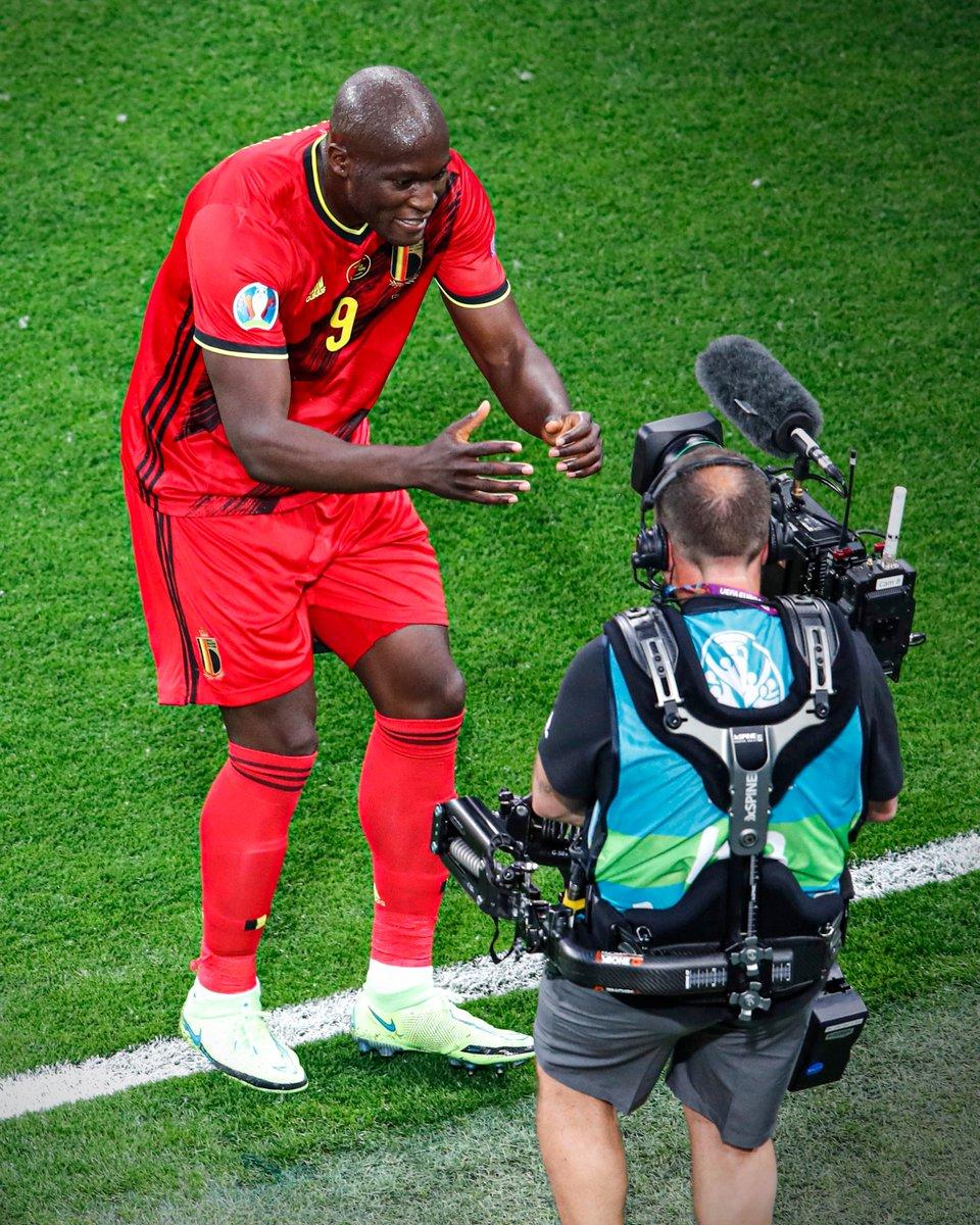 """Chris, Chris! I love you.""  Romelu Lukaku's message straight to camera after scoring Belgium's opening goal of the tournament. https://t.co/ANbzNVetSC"