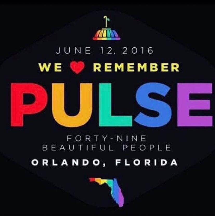 This makes 5 years for the #PulseNightclub mass shooting where 49 people lost their lives celebrating #Pride.   Sadly #MassShootings have become a daily occurrence for Americans, today marks 267 mass shootings this year.   We must #HonorThemWithAction, #GunControlNow #ForThe49. https://t.co/q0309BfIqK