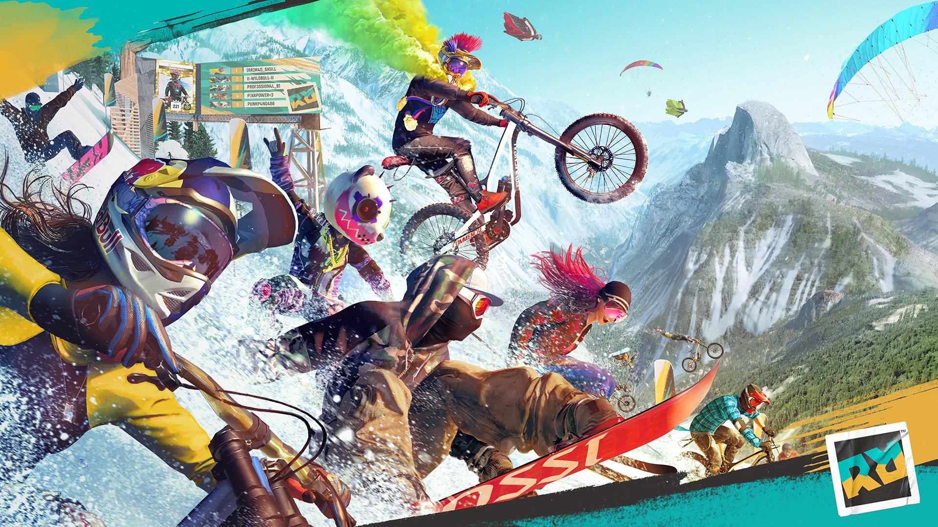 Riders Republic game