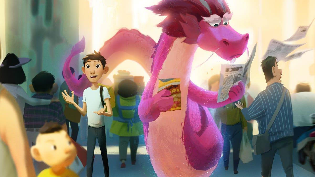 John Cho Lends His Voice To Animated Netflix Film Wish Dragon