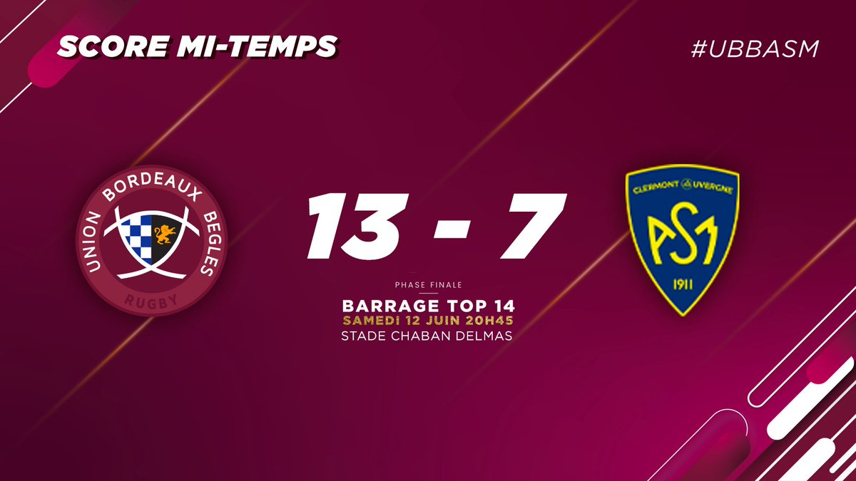 @UBBrugby's photo on Clermont