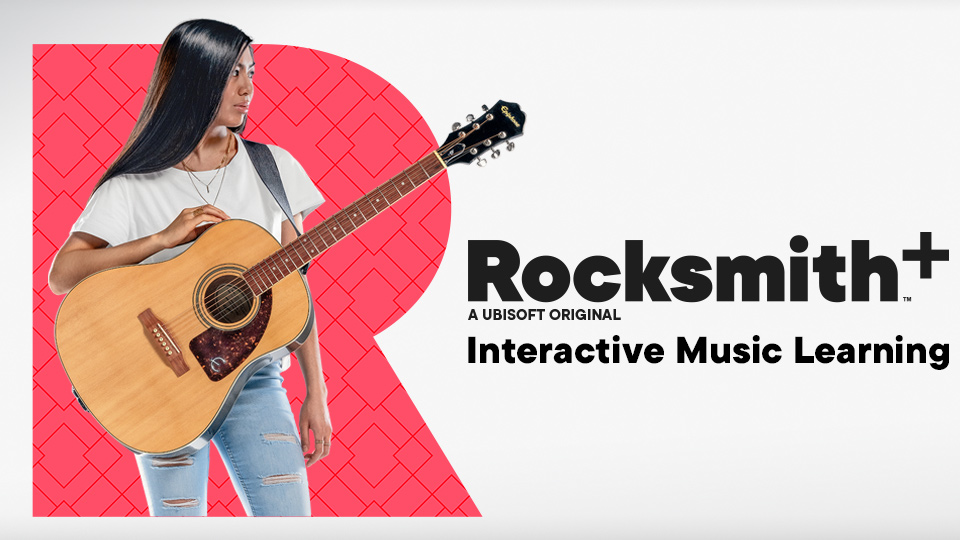 Rocksmith+ is an Ubisoft subscription service for learning guitar and bass