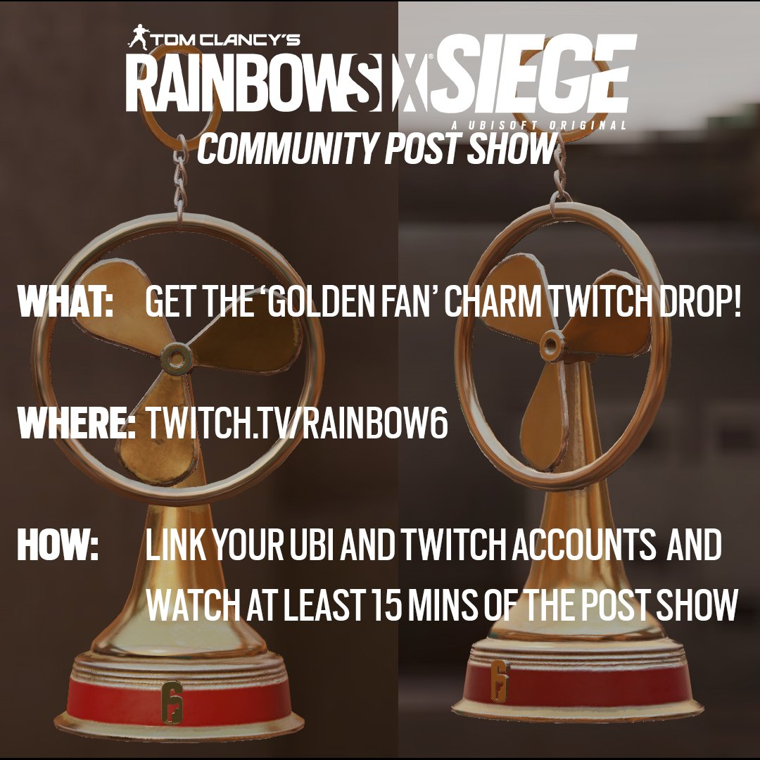Due to the incredibly high volume, you may not see your Siege Charm Drop immediately in your account today.  Rest assured, it will be delivered in the coming days! https://t.co/dFcN2zNptm