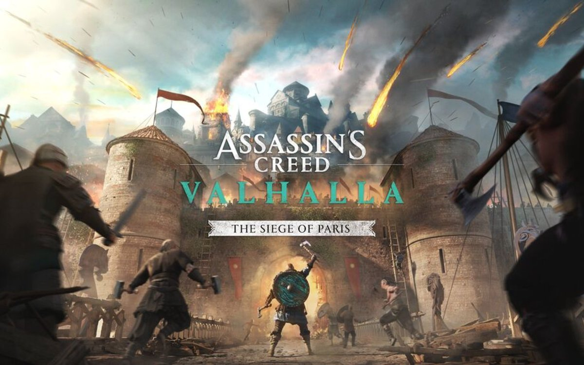 'Assassin's Creed Valhalla' DLC will let you lay siege to Paris this summer