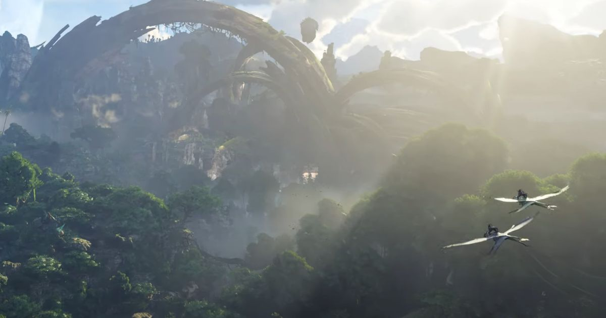 James Cameron's world of Avatar returns to video games in 2022 with 'Frontiers of Pandora'.