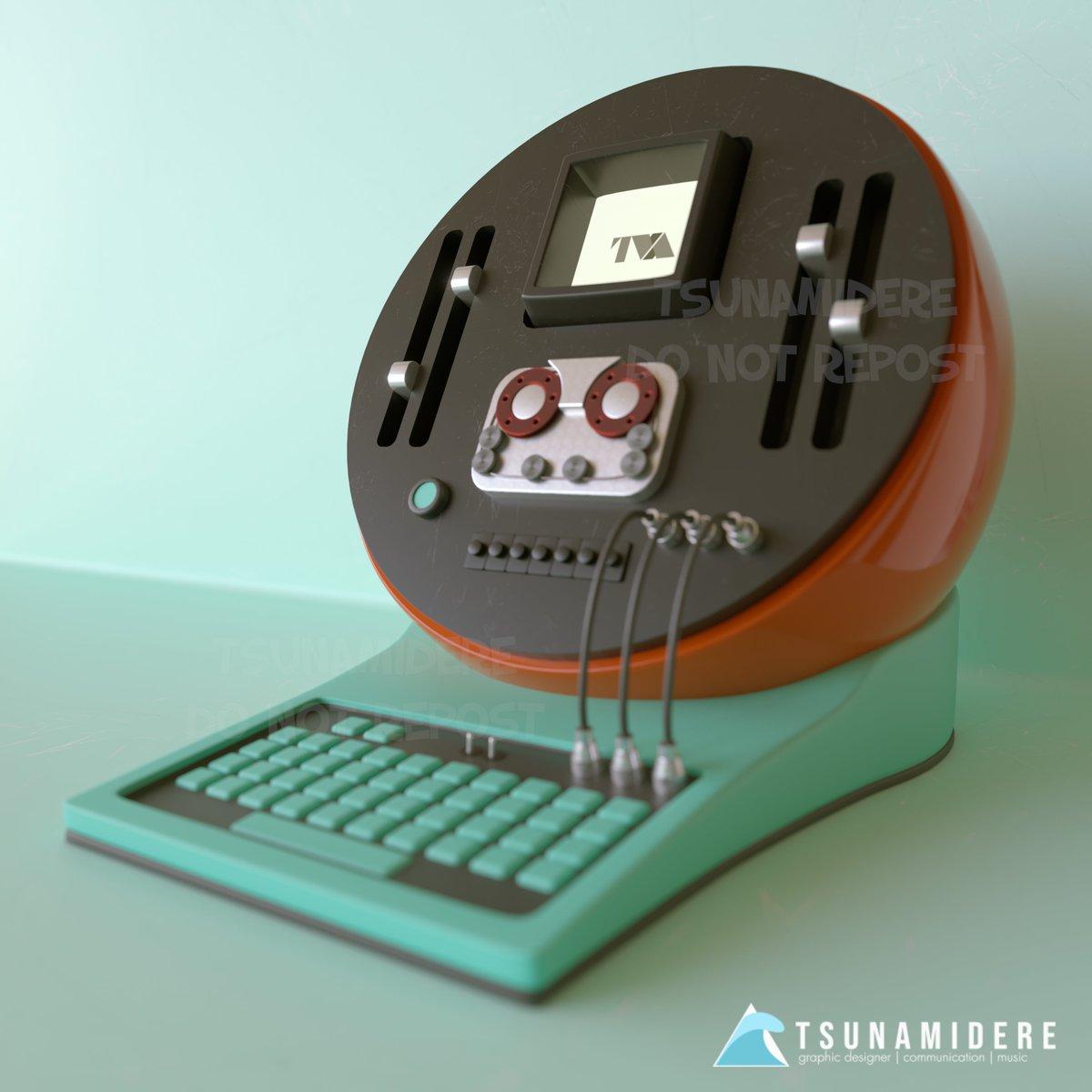 #TVA #computer from #Loki made with #cinema4D // #coronarenderer // #Marvel // #MCU // https://t.co/scPKK3pMf3